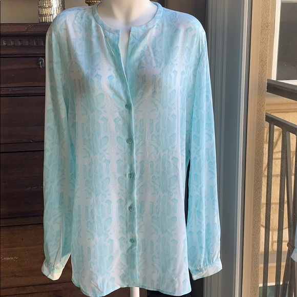 Equipment Tops - NWT equipment snake print blouse